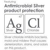 PureCare™ Total Encasement Antibacterial Silver Mattress Protector