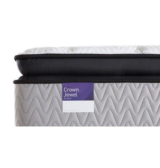crown estate plush pillow top mattress
