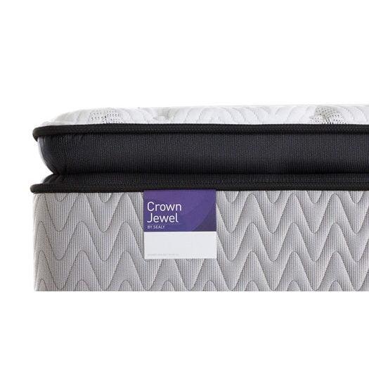 crown estate plush pillow top mattress