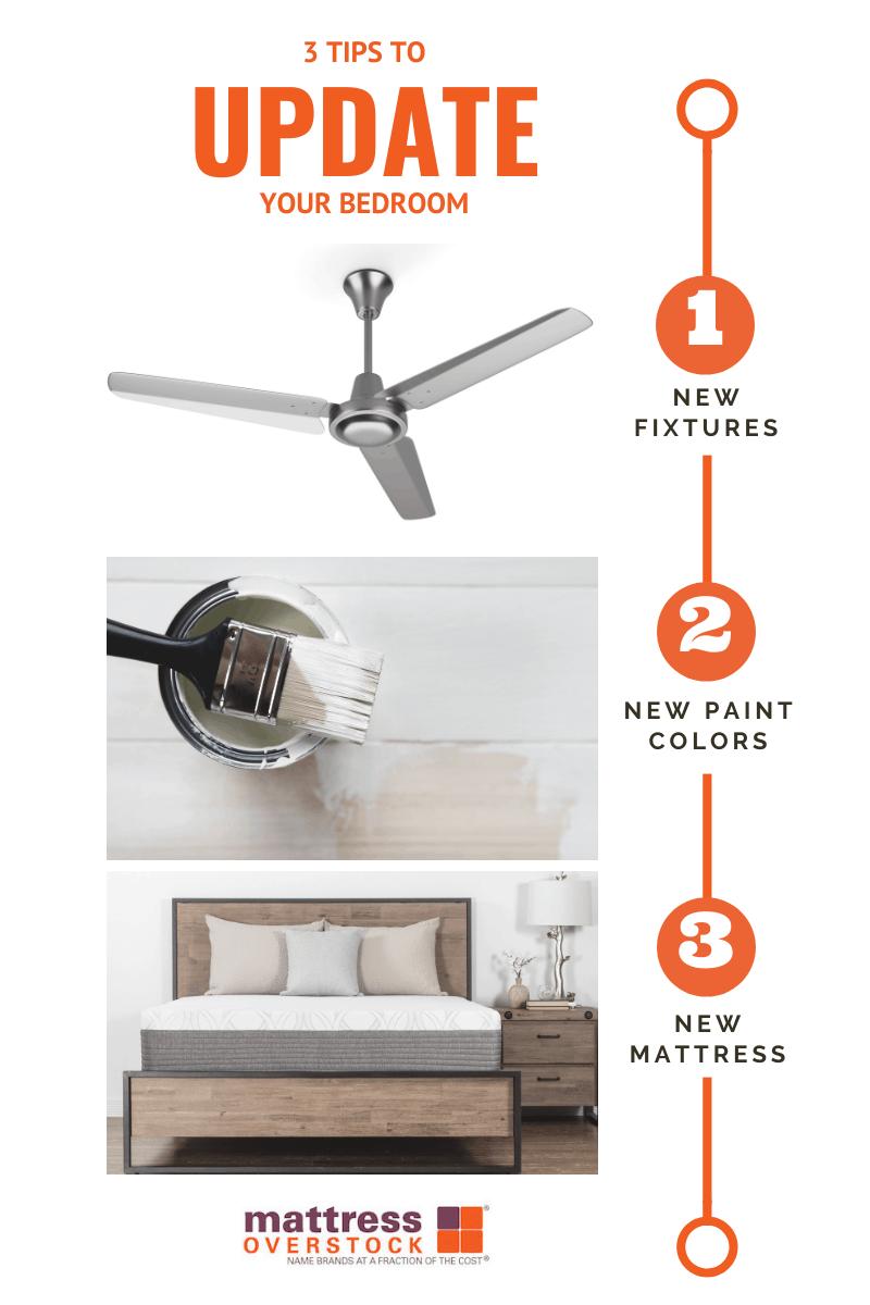 3 TIPS TO UPDATE YOUR BEDROOM